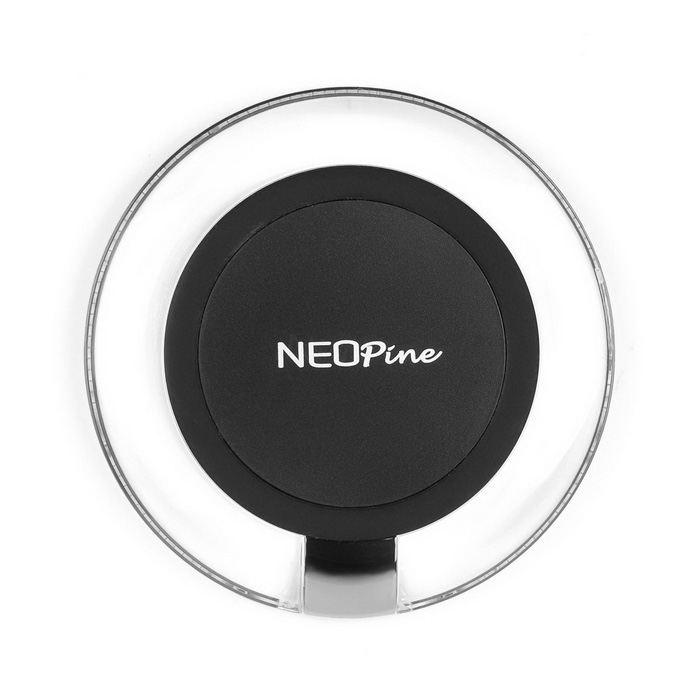 neopine QI caricabatterie wireless standard per IPHONE / Samsung - nero