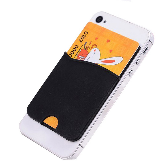 Card holder back adhesive sticker for iphone samsung for Iphone business card holder