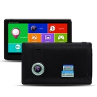 "TiaiwaiT M8 7"" HD Android Car GPS Navigator DVR Tablet PC w/ Bluetooth / Wi-Fi / FM / 8GB / RU Map"