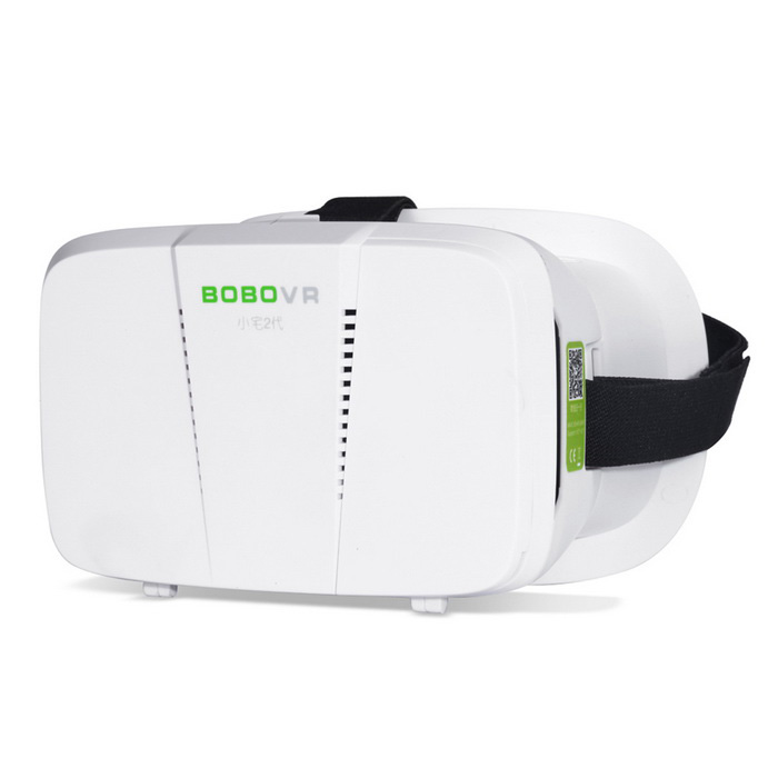 "Xiaozai BOBO VR 3D BOX 42mm Virtual Reality Glasses for 4.7""~6.0"" Phones - White + Black"