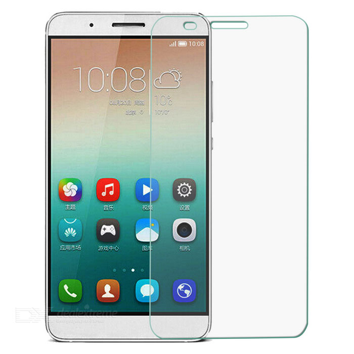 0.3mm Clear Tempered Glass Screen Protector Guard for Huawei Honor 7i - Transparent