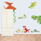 Dinosaur Zoo Nursery Backdrop Bedroom Children's Room Sticker