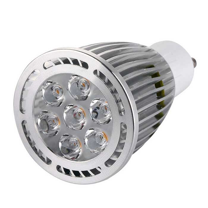 GU10 7W LED Spotlight Bulb Lamp Warm White Light 3000K 700lm 7-SMD
