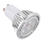 GU10 4W 400lm 4-3030 SMD 3000K Warm White LED Spot Light (AC 85~265V)