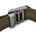 TOUGH Men Free Size Durable Belt with Metal Buckle - Grey (120CM-Length)