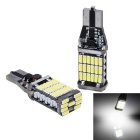 T15 9.5W LED Car Backup Light White Light 6000K 1150lm 45-SMD 3014 (12~24V / 2pcs)
