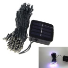 Colorful 6W 100-LED Solar Light Sensor Garden Decorative Light Holiday Light String - Light Green