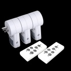Wireless Remote Control Power Outlet Plug Socket Switch Set for Lamps Household Appliance 120V