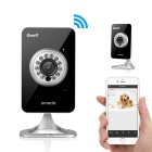 Zmodo ZH-IXD1D-WAC H.264 720P Megapixel HD Wi-Fi Network IP Camera for Baby and Pet Monitor - Black