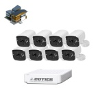 COTIER N8B7-Mini/L 8CH Mini NVR 960P IP Security P2P Camera NVR Kits