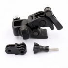 Fixed Clip Gun, Fishing Rod, Bow/Arrow Mount Set for Gopro 3+/4