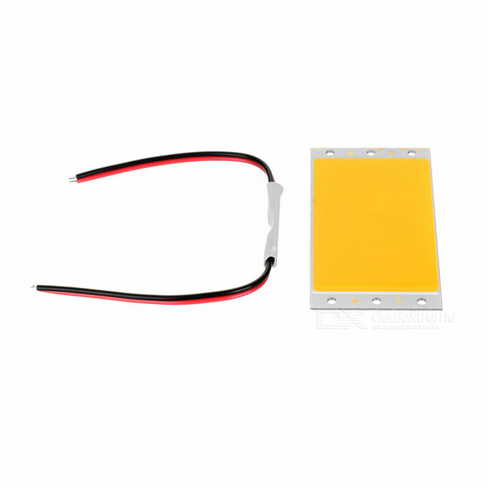 94*50mm 10W Highlight 56-COB Warm White Light Module w/ Controller