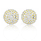JRLED 24W 48-5730 SMD 2000lm 3200K Warm White LED Panel Lamp / Ceiling Light (2PCS / DC 72~80V)