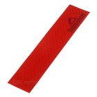 Salzmann Bike / Car Safety Warning Reflective Sticker - Red
