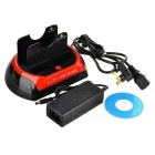 "Docking station w / e-sata para 2.5""/3.5"" SATA HDD - preto (plug uk)"