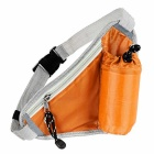 Outdoor Multi-Function Close-Fitting Nylon Waist Bag w/ Water Bottle Holder Pocket - Orange
