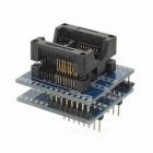 SOP16 to DIP16 Wide 300mil Programmer Adapter Test Socket - Deep Blue