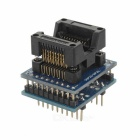 SOP20 209mil IC Programmer Adapter Test Socket - Black + Blue