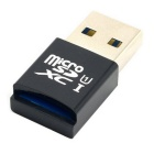 Mini Size 5Gbps Super Speed USB 3.0 to Micro SD SDXC TF Card Reader Adapter