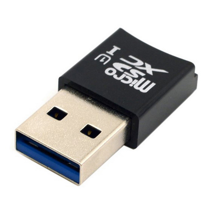 Usb 3 0 Superspeed Sd Micro Sd Memory Card Media Reader: Mini Size Super Speed USB 3.0 To Micro SD SDXC TF Card