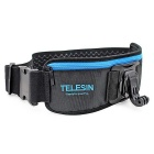 TELESIN Adjustable Waist Belt / J Hook Mount for Gopro Hero 3 / 3+ / 4 Xiaomi Yi - Black