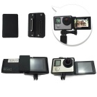 Gopro camera Accessories Selfie LCD Converter Box for Gopro Hero3+/4 With LCD Screen Display Mounts