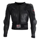 PRO-BIKER HX-P13 Outdoor Riding Motorcycle Long-Sleeved Body Armor Safety Jacket - Black (L)