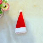 Santa Claus Style Wine Bottle Hat + Clothes - Red + White