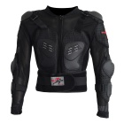 PRO-BIKER HX-P13 Outdoor Riding Motorcycle Long-Sleeved Body Armor Safety Jacket - Black (XL)