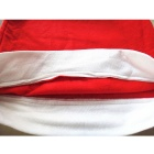 Christmas Hat Style Decorative Chair Cover - Red + White (4PCS)