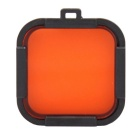 35mm Protector Cover Filter Lens for Gopro Hero 4 session - Red