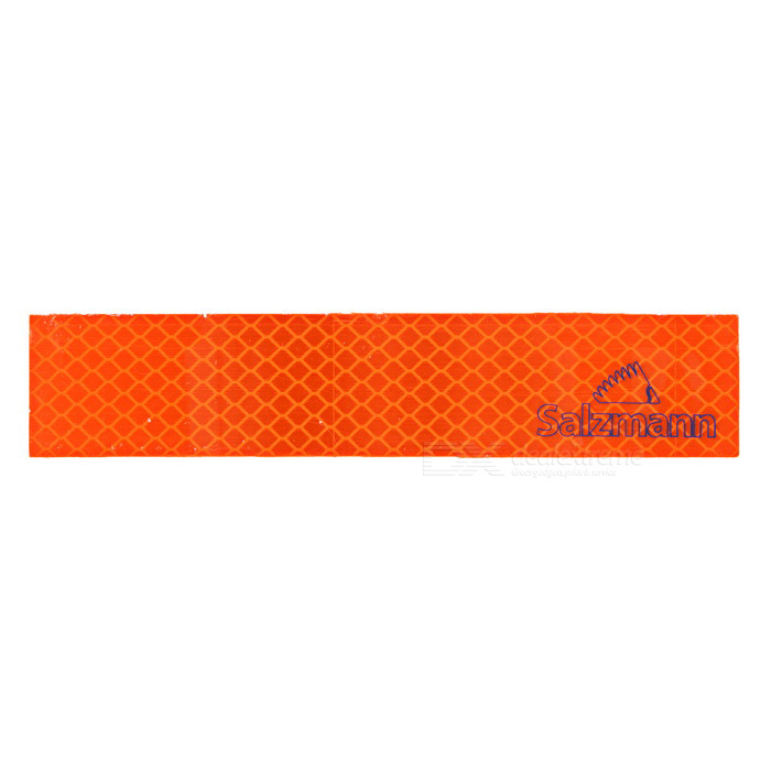 Salzmann Bike / Car Safety Warning Reflective Sticker - Orange