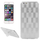 Hat-Prince Woven Pattern Soft Case for IPHONE 6 PLUS / 6S PLUS - White