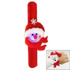 Christmas Ornaments Snowman Floating Scarves Style Colorful LED Pat Circle Bracelet