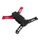 Enzo250 250mm Wheelbase 4-Axis Carbon Fiber Quadcopter Frame Kit - Red&Black