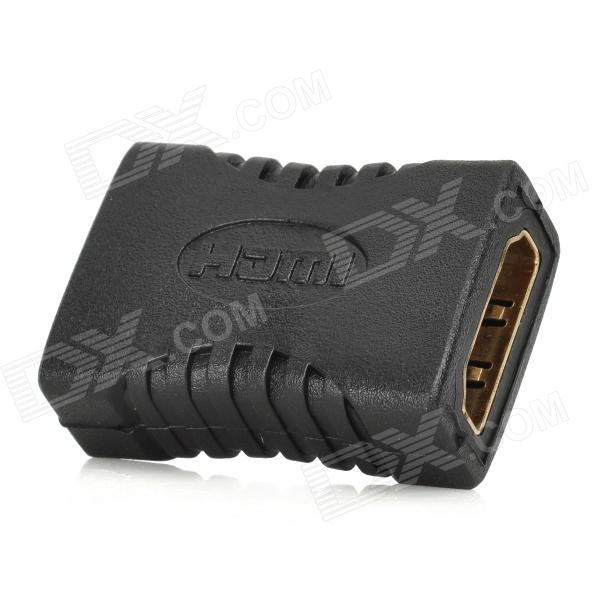 HDMI Female to Female Video Connector - Black