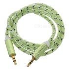 3,5 mm Stecker auf Stecker Audio-AUX-Kabel - Light Green (100 cm)