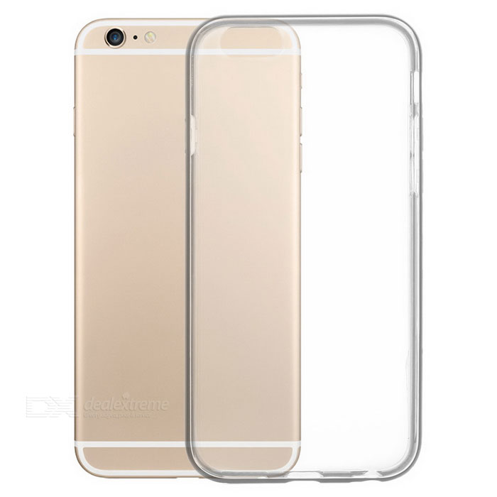 S-What 2-in-1 TPU + Aluminum Alloy Back Case for IPHONE 6 / 6S - Black