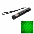 Stars Style Green Light 5mW Bike Laser Pointer - Black (1 x 16430)