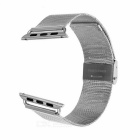 Watchband w/ Attachment & Screwdriver for APPLE WATCH 38mm - Silver