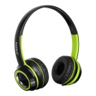 KEEKA 3.5mm Wired Gaming Headband Headsets Headphones w/ Mic. & Remote Wire Control - Green