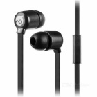 MOGCO M5 Universal High Quality 3.5mm In-Ear Earphones w/ Mic. - Black