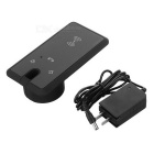 Qi Universal Embedded Charger w/ Microphone, Speaker, Touch Key -Black