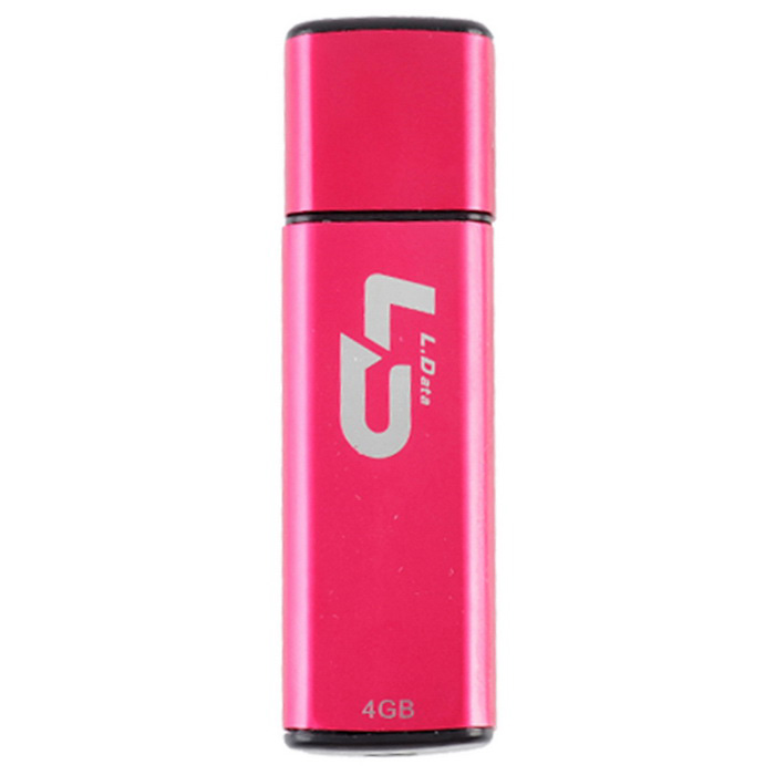 L.data LD C07 Unidad flash USB 2.0 - rosa intenso (4 GB)