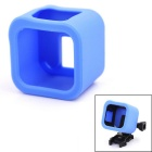 A Model Protective Frame Silicone Case for GoPro Hero4 Session - Blue