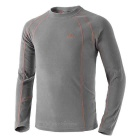 NatureHike Close-fitting Warm Breathable Half-Zip Stand Round Long Sleeved Polar Fleece T-Shirt (XL)