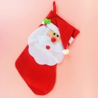 Large Santa Claus Sock Style Red Christmas Gift Bag Candy Bag