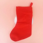 Large Santa Claus Sock Style Red Christmas Gift Bag Candy Bag - Red