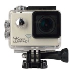 "2.0"" HD 1080P CMOS 170' Wide-Angle 16MP 4K Wi-Fi Waterproof Sports Camera Camcorder - Light Golden"