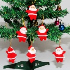 Buy Santa Claus Christmas Tree Ornaments Small Pendant (6PCS)